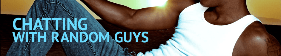 gay chat banner